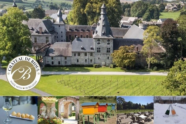 Aqualodge - Lodges insolites | Château de Bioul